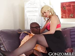 Milfs Interracial Busty video: Busty cuckold MILF deeply banged by BBC insurance agent