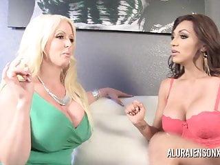 Alura Jenson被人妖Jessy Dubai搞砸了