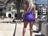 Amazing Jelena in tight Dress