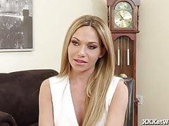 Hot Secretary Seduces Her Boss!
