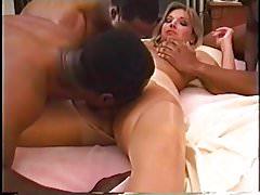 Fetish Fun Films - Gabrielle Santini - Éjaculations internes des Black Guys