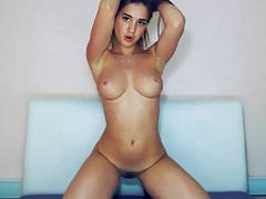 ragazza in webcam