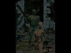 Uncle Sickey est un artiste 3d doué et crée un BDSM excitant