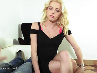 Masturbation Handjobs Small Tits video: April Paisley - Lawyer Quickie Payment