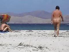 Strand Pussy spielen Voyeur