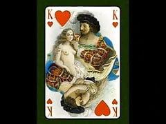 Le Florentin - Carte da gioco erotiche di Paul-Emile Becat