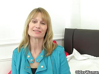 Grannies British Pantyhose video: You shall not covet your neighbour's milf part 40
