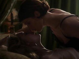 Fingering Softcore Blonde video: Gemma Arterton & Elizabeth Debicki - ''Vita & Virginia'' 02
