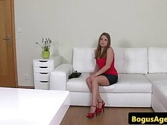Auditioning euro amateur fucks casting couch