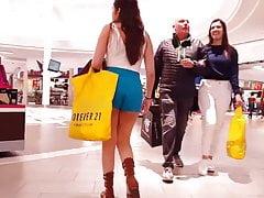 Shopping centro commerciale blu dei giovani di Latina latina calda voyeur schietto