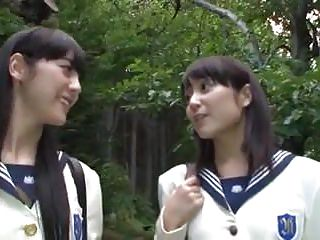 Asian Japanese Sex Toys video: Japanese AV Lesbians Schoolgirls