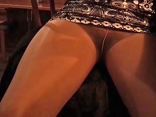 Upskirts Voyeur video: Bar Stool 4