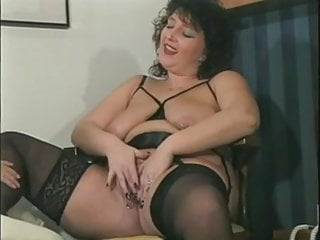 Amateur Bbw Stockings video: Ger ManAma Teur AnneMarie