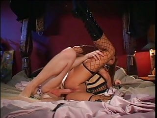 Anal Stockings video: corset anal fuck