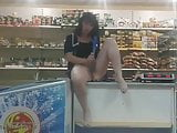 Saleswoman in the store