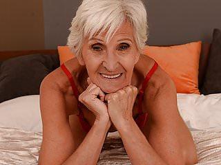 Hairy Oldyoung Grannies video: Old woman Viviana still needs hard dick
