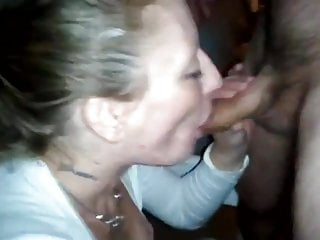 Blonde Small Tits Blowjob video: Mandy Working A Cock For Cum
