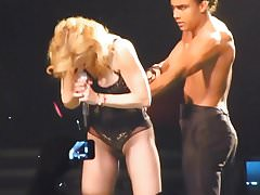 Madonna Live Spent Love in Lingerie sexy