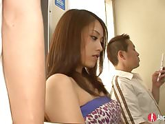 Gorgeous Japanese Teen Public Gangbang