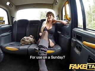 Fake Taxi Busty blonde MILF Amber Jayne sucks and fucks
