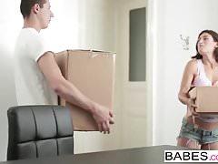 Babes - Step Mom Lezioni - Silvia Lauren e Nick Gill e J