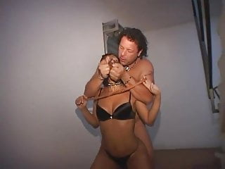 Group Sex Amateur Italian video: Italian milf fighting with 2 cocks