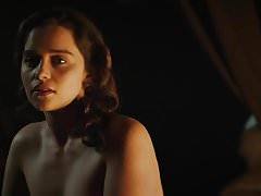 "Emilia Clarke Nude w ""The Voice from the Stone"""