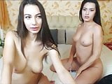 2girls strip kiss and rub