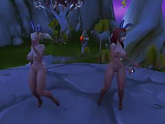 Warcraft Belf Wank Dolls