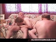 Velvet Swingers Club BBW moglie di stile di vita condivisa dal suo husban