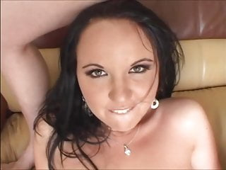 Black-haired, fucking horny bitch