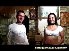 il primo nastro di casting anale delle giovani coppie