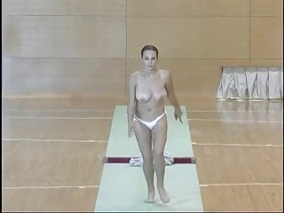 Vintage Funny Big Tits video: Physical training
