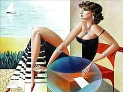 Pinturas eróticas de georgy kurasov