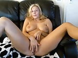 Super hot milf masturbating on webcam