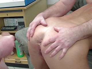 Blonde Big Tits Granny video: Grandma enjoys orgy in the office