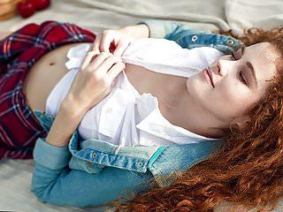 .Stunning teen Adel C.