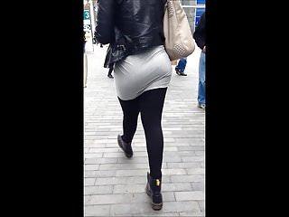 British Black Big Ass video: BhamBootyHunter: Two Candid Booty Nice Asses