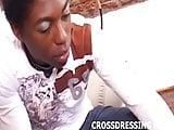 I am dressed up like a cute little crossdresser slut