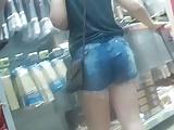 Galega Gostosa De Shortinho (Blonde Shorts Entering) S8