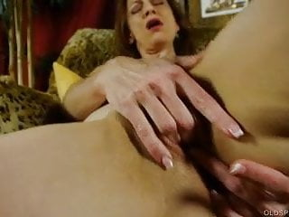 .Supple old spunker limbers up & fucks her soaking wet pussy.