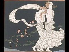 Erotische Kunst von George Barbier 2 - Prosa-Gedichte