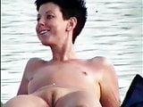 Pussy Nude on a Beach