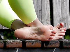 Feet 010 - Rosa suole rosa dita dei piedi