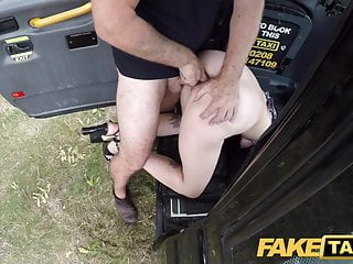 Fake Taxi Spanish chick Liz Rainbow loves anal fingering