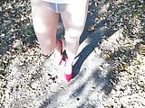 Me in nylons and my lovley red heels