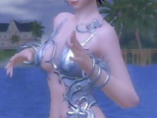 aion dance at the beach