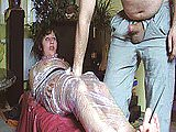 Amateur BDSM action with a naughty Milf who loves cum
