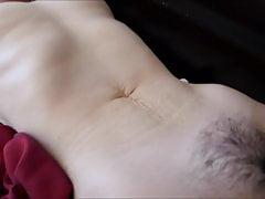 Frau gefesselt, Pussy gefingert, vibed, Dildo im Bauch