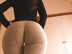 PAWG perfetto in Leggings in Spandex